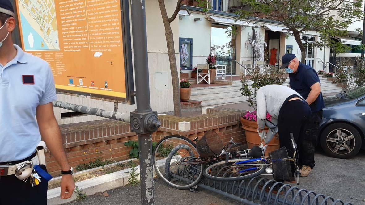 rimozione biciclette abbandonate