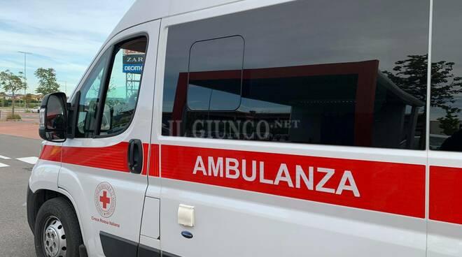 croce rossa ambulanza