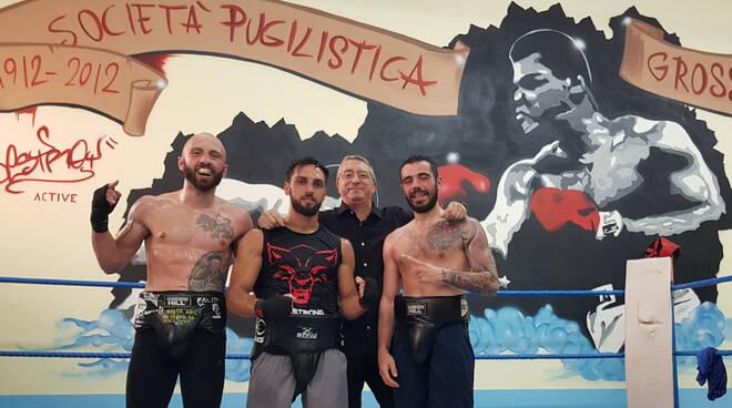 Team Rosanna Conti Cavini - Carafa, Giorgetti e Lenti