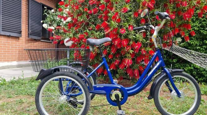 """triciclo elettrico per la Rsd """"Il Sole"""""""