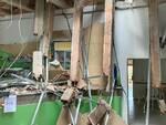 Crollo centro anziani via de Barberi