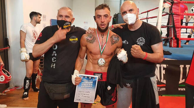 Fight Gym Simone Nigido campione Kickboxing