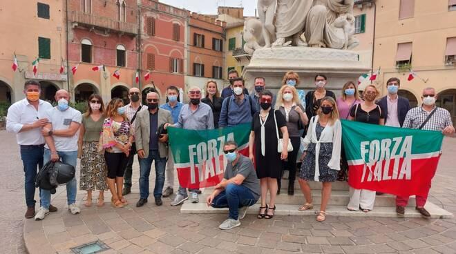 flash-mob Forza Italia