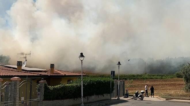 Incendio Campi Alti 2021