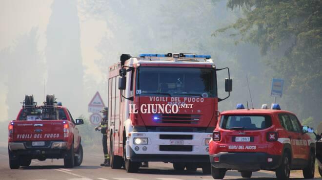 Incendio Castiglionese giugno 2021