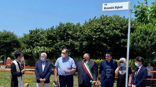 intitolazione via Alessandro Righetti