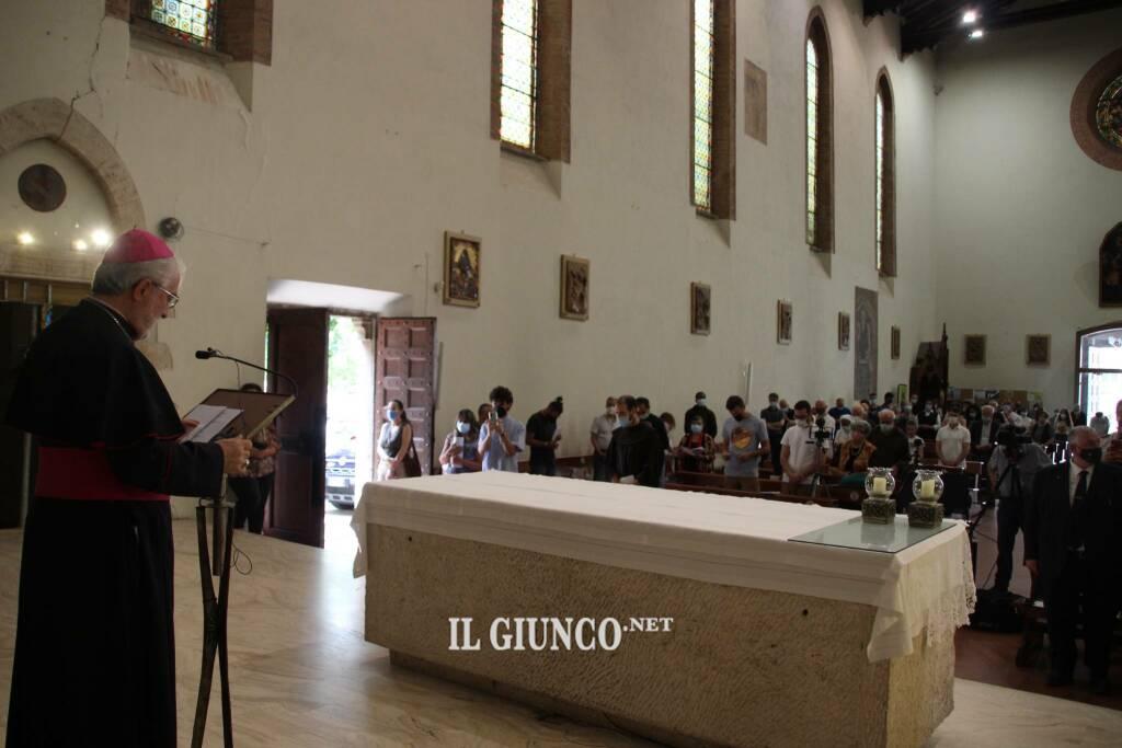 Messa annuncio nuovo vescovo 2021