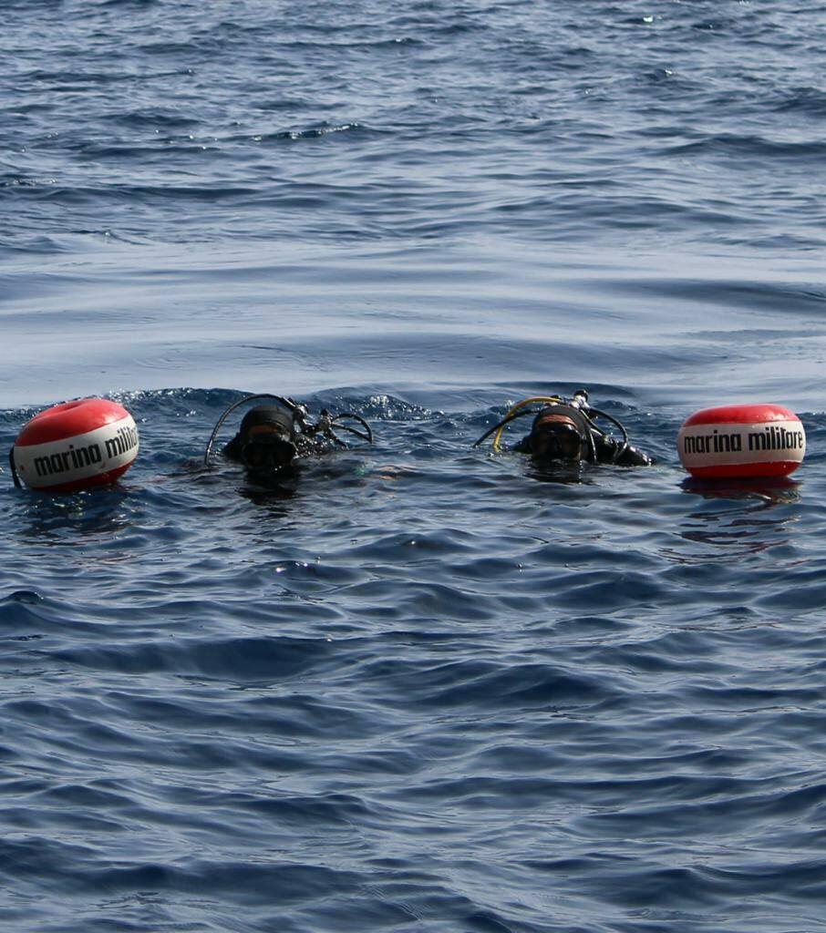 Ordigno nelle acque di Montecristo