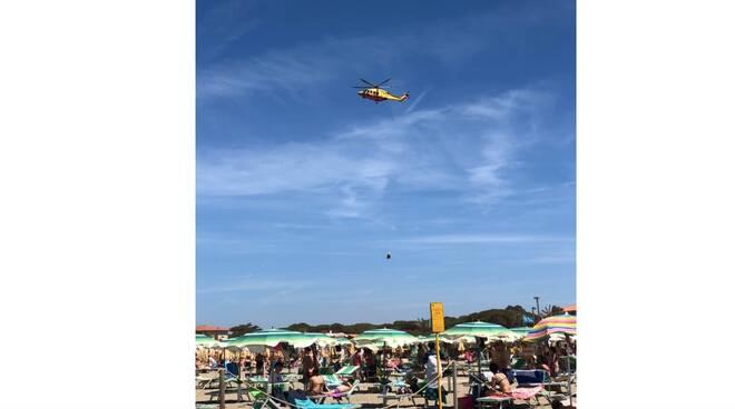 Pegaso Intervento spiaggia giugno 2021