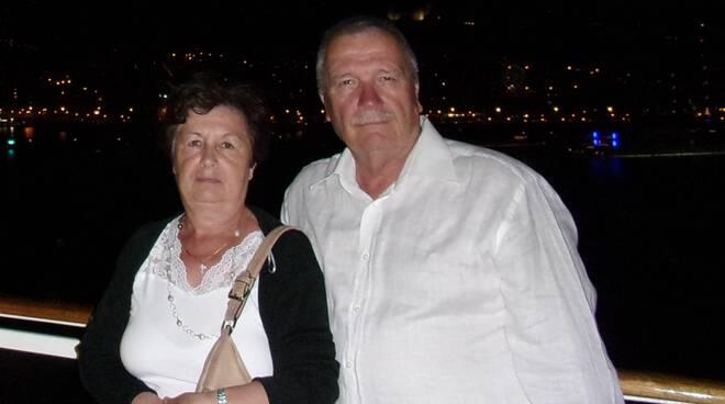 Renzo Lenzi e Anna Maria Vannetti