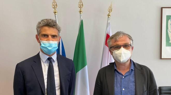 Simone Bezzini e Francesco Ferrari