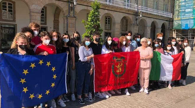 Studenti alla Coruna (Spagna)