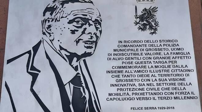Targa Felice Serra