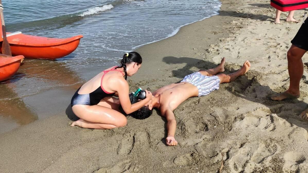 Corso primo soccorso in spiaggia
