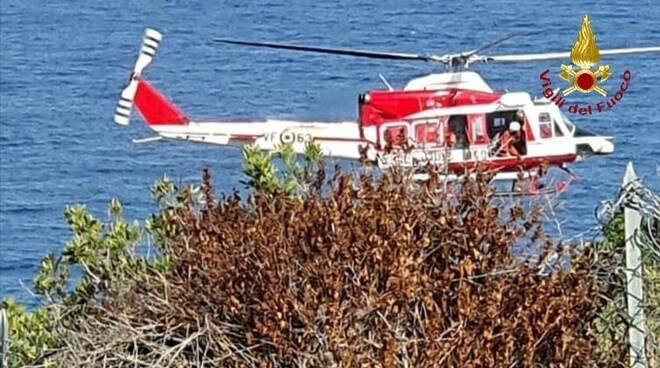 elicottero Vigili del fuoco vf drago 63