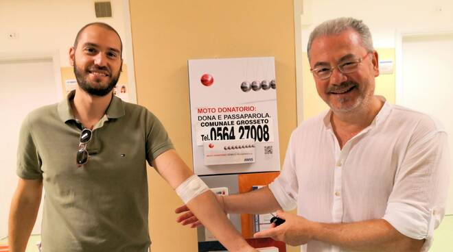 Federico Marciano con Carlo Sestini