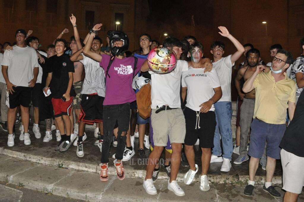Festeggiamenti Italia Spagna 2021