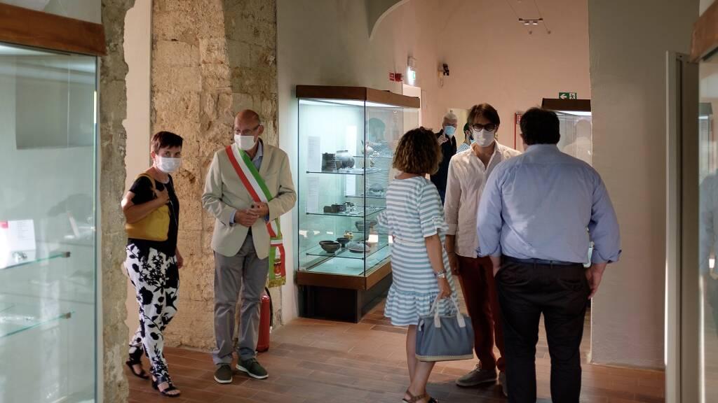 Inaugurazione museo archeologico Massa