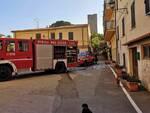 incendio nell'albergo