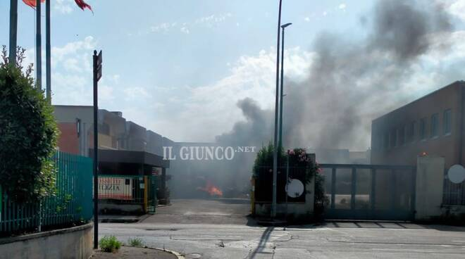 Incendio via Pisa - 2021