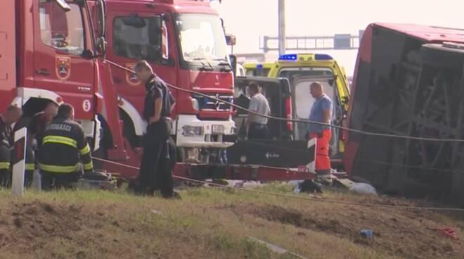 Incidente bus Croazia