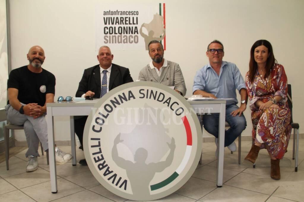 Lista Vivarelli Colonna sindaco