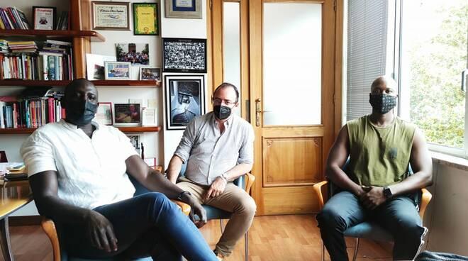 Mamadou Fall, Andrea Benini, Amdy Dieng Serigne