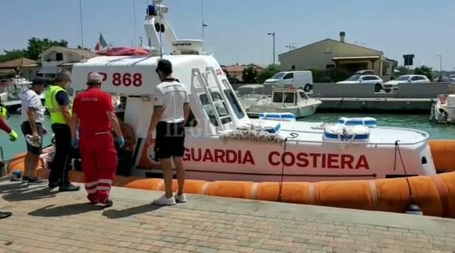 salvataggio Guardia costiera