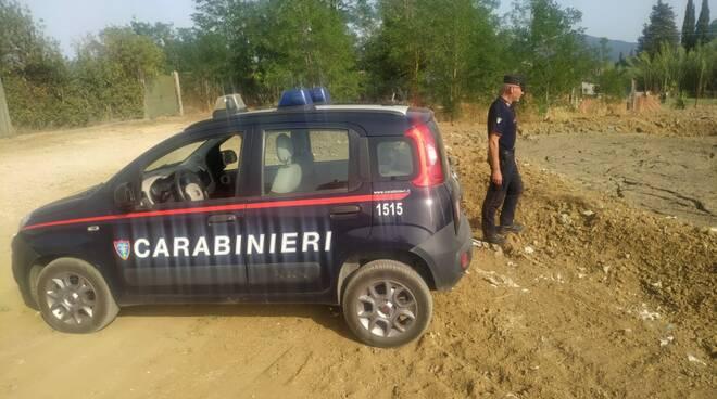 smaltimento fanghi carabinieri