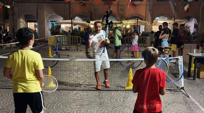 Tennis Uisp nel centro storico