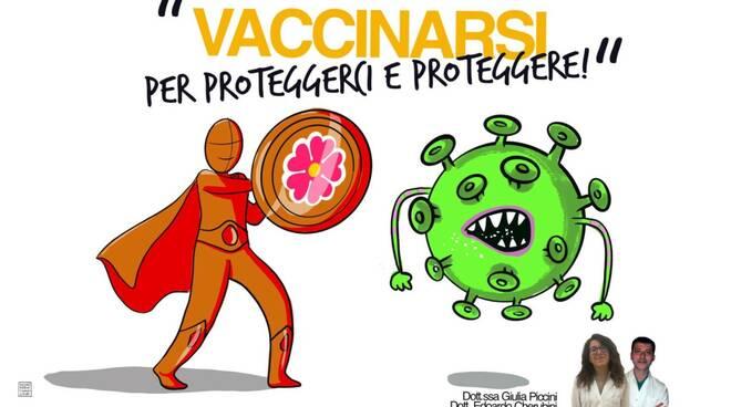 campagna sensibilizzazione vax