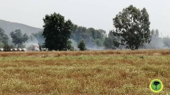 Incendio Albinia 12 agosto 2021
