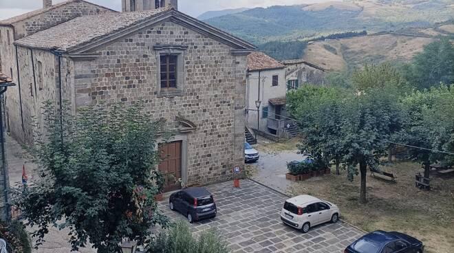 piazza Sant'Agostino Santa Fiora