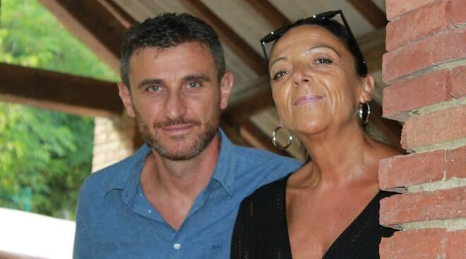 Giacomo Moscato e Claudia Dondoli