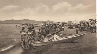 Marina di Grosseto Spiaggia foto storica