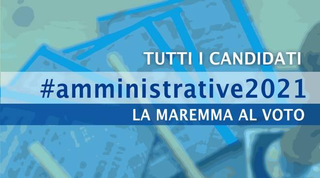 AMMINISTRATIVE2021 - CANDIDATI