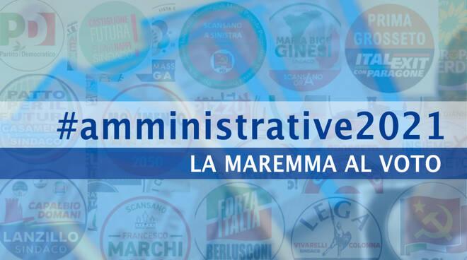 #amministrative2021 - grafica simboli