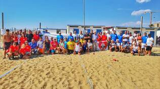 Bocce Beach 2021