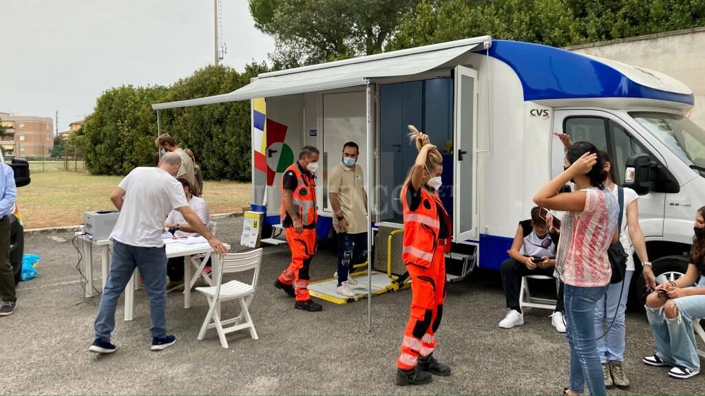Camper vaccini Cittadella dello studente