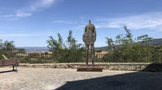 Inaugurazione scultura IL SOLDATO di CANA del Maestro Paolo Staccioli