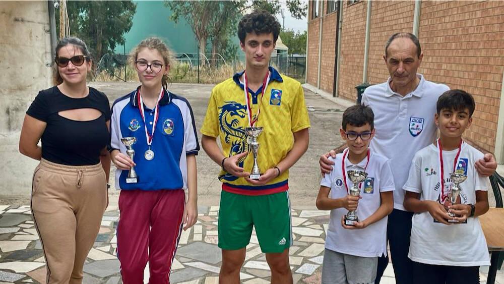 Circolo Bocciofilo alla Coppa Toscana - team Giovanissimi