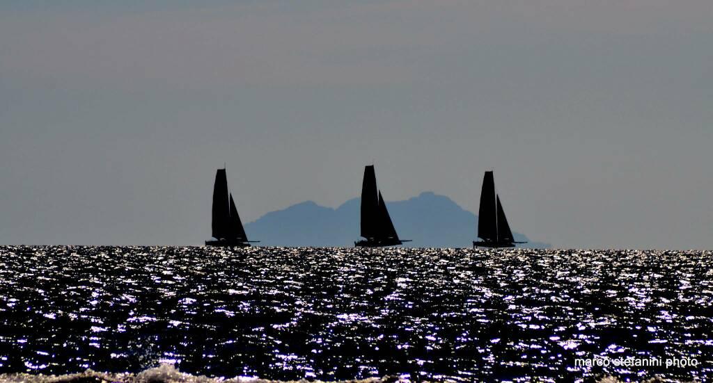 foto del giorno catamarani