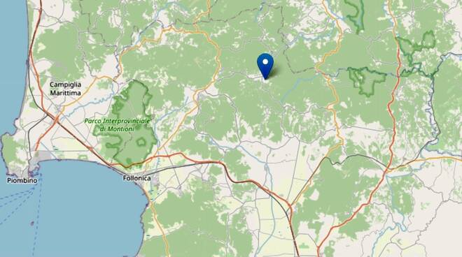 terremoto Montieri 27 settembre 2021