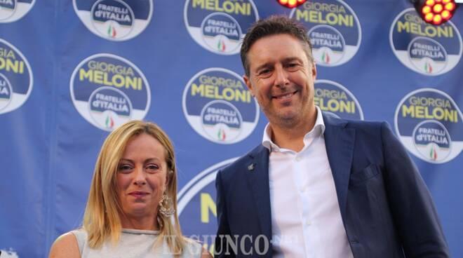 Giorgia Meloni Fabrizio Rossi