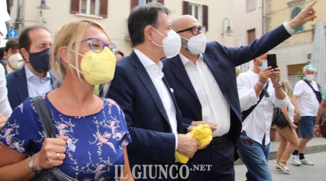 Giuseppe Conte a Grosseto
