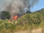 incendio Bivio ravi