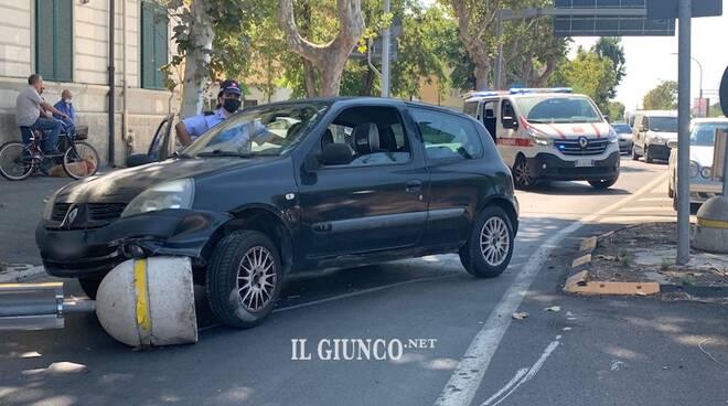 Incidente via Sonnino 6 settembre 2021