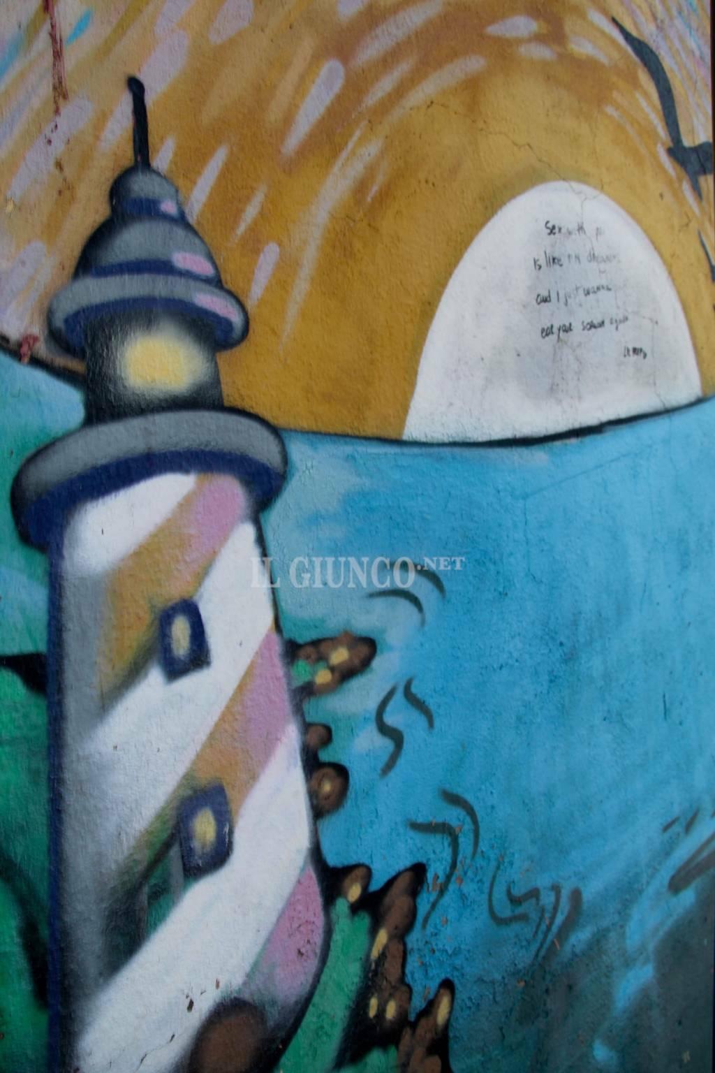 Murale via Monte Leoni