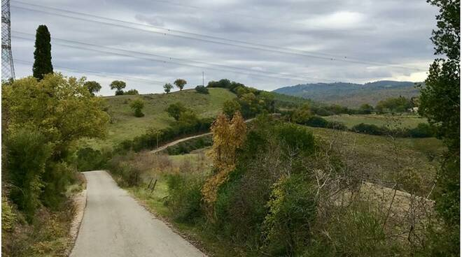 Ombrone river trails