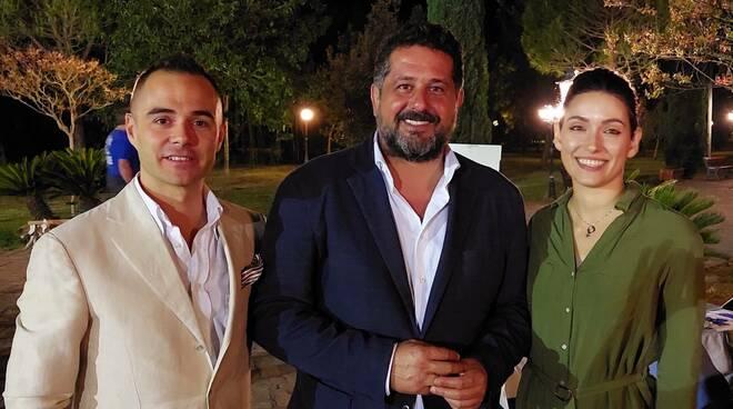 Riccardo Ciaffarafà, Luca Agresti e Jessica Ciaffarafà
